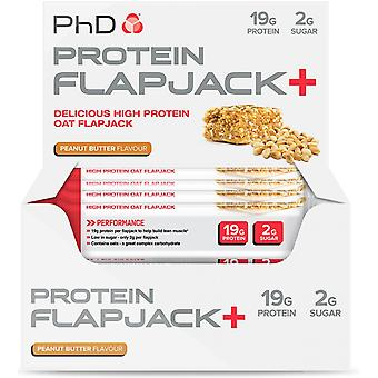 PhD Protein Flapjack+ Apple & Raspberry 12 Bars (Sport , Muscle mass , Proteins)
