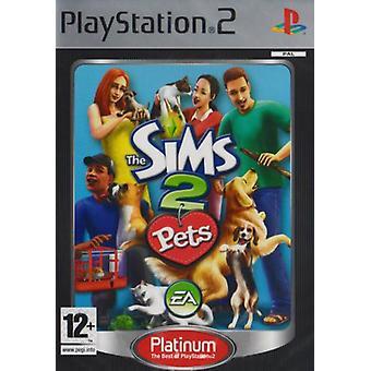 Sims 2 Pets Platinum (PS2)