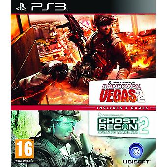 Ubisoft Double Pack - Rainbow Six Vegas 2 et Ghost Recon Advanced Warfighter 2 - Legacy Edition (p)