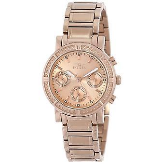 Invicta Wildflower 14874 acero inoxidable cronógrafo reloj