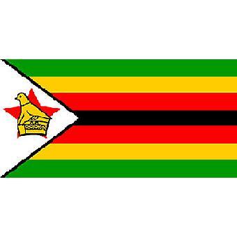 Simbabwe Flagge 5 x 3 ft mit Ösen