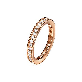 Joop women's ring silver Rosé cubic zirconia TAYLOR JPRG90788C