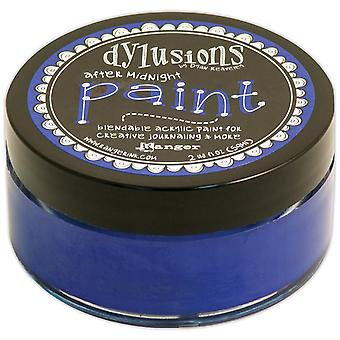 Dylusions By Dyan Reaveley Blendable Acrylic Paint 2oz-After Midnight