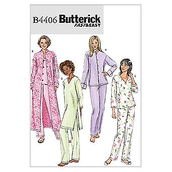 Misses'/Misses' Petite Jacket, Robe, Top, Tunic and Pants-Y (XSM-SML-MED) -*SEWING PATTERN*