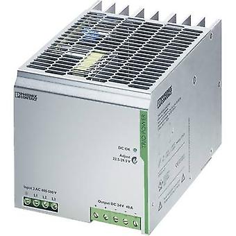 Rail mounted PSU (DIN) Phoenix Contact TRIO-PS/3AC/24DC/40 24 Vdc 40 A 960 W 1 x