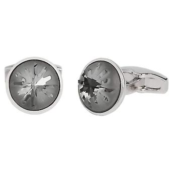 Simon Carter Swarovski Sea Urchin Cufflinks - Grey/Silver
