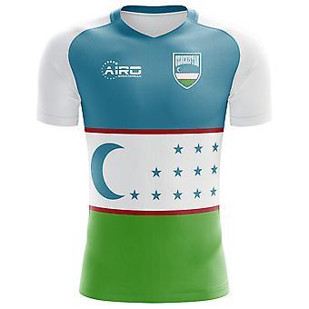 2018-2019 أوزبكستان مفهوم الوطن القميص لكرة القدم
