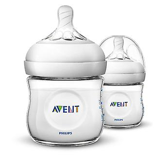 Philips SCF690/27 Natural 4oz/125ml Avent Baby Feeding Bottle-Twin