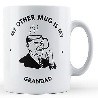 Min andre krus er min bestefar - trykte krus