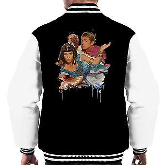 TV volte Kat e Alfie Eastenders maschile Varsity Jacket