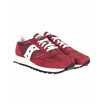Saucony Jazz Vintage Og Shoes - Burgundy/white