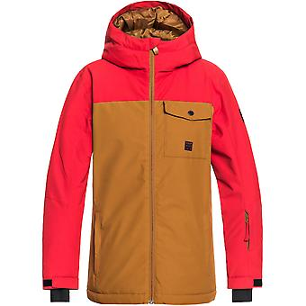 Quiksilver Golden Brown Mission Solid Kids Snowboarding Jacket