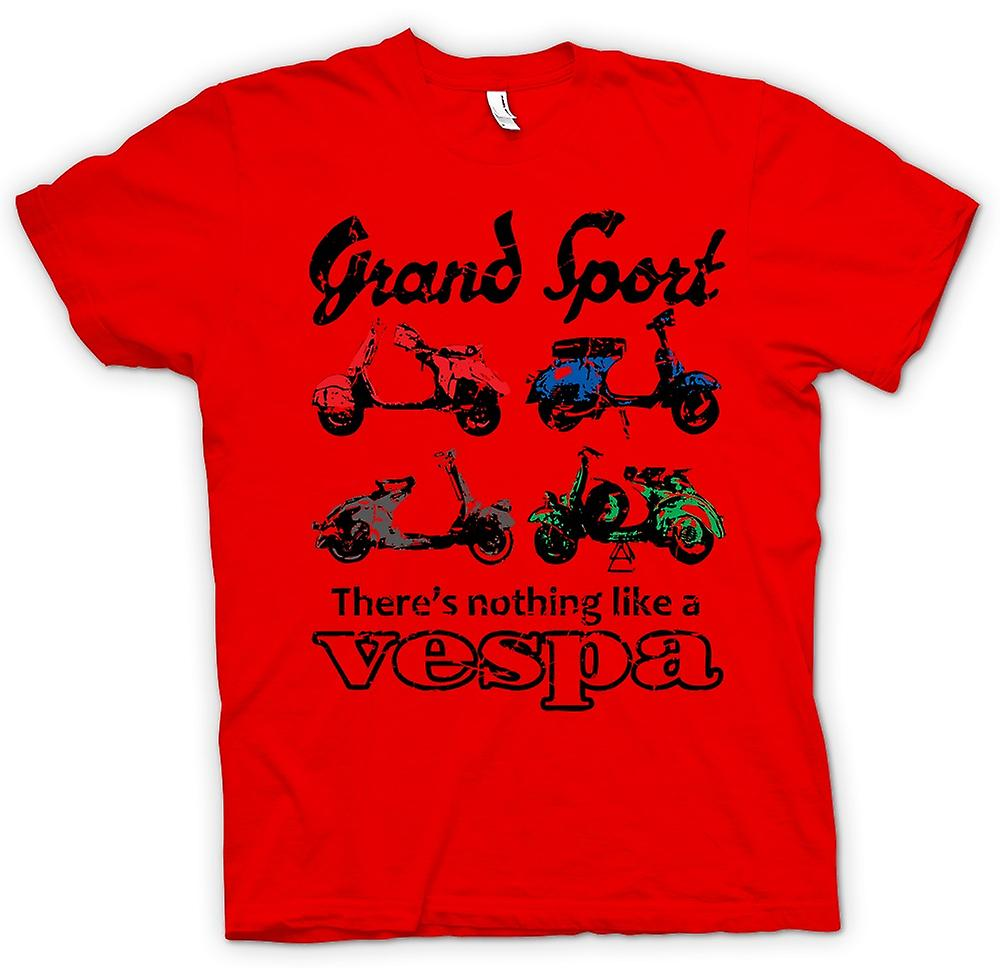 Mens t-shirt - Vespa Grand Sport - Pop Art