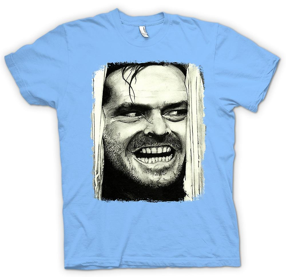 Mens T-shirt - The Shining - Jack Heres Johnny