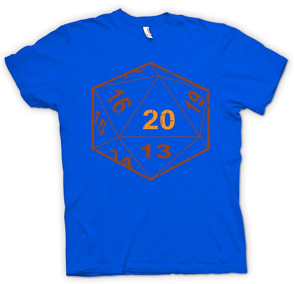 Camiseta para hombre - Dungeons And Dragons D20 dados - Gamer