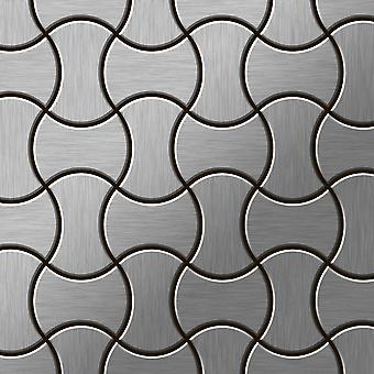 Metal mosaic Stainless Steel ALLOY Infinit-S-S-B