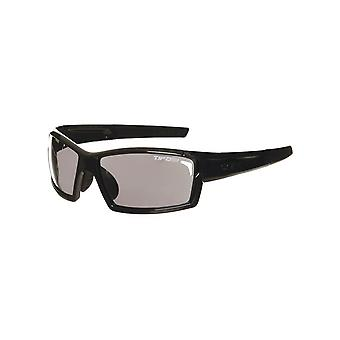 Tifosi Gloss Black Camrock Interchangeable Cycling Glasses