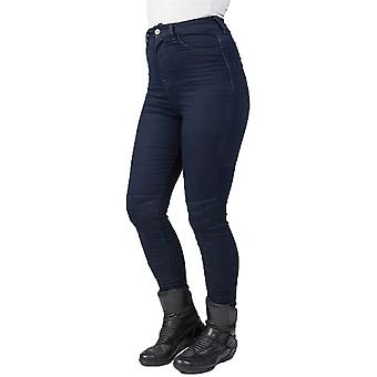 Bull-It blau Fury SP120 Lite Hose - kurze Womens Motorrad Jeans