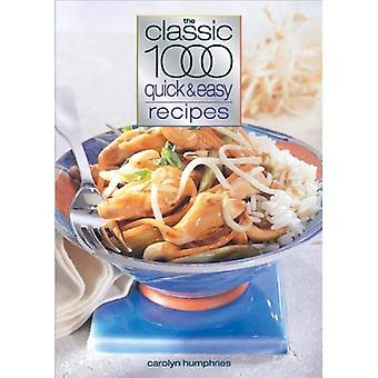 The Classic 1000 Quick and Easy Recipes (Classic 1000)