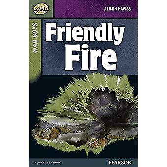 Snabb 8 upplagt B: kriget pojkar: Friendly Fire (snabb övre nivåer)