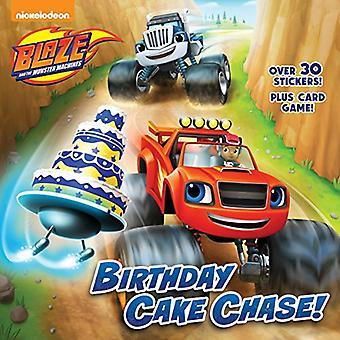 Birthday Cake Chase! (Blaze et les Machines de monstre) (Pictureback(r))