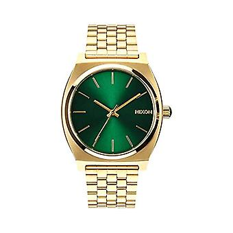 Nixon analog quartz watch with stainless steel band _ A0451919-00