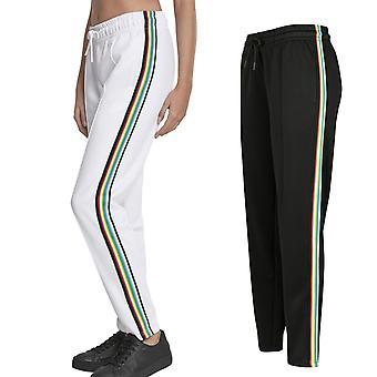Urban classics ladies - SIDE TAPED tricot track pants