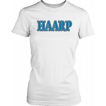 HAARP - High Frequency Active Auroral Research Program - Verschwörung Damen T Shirt