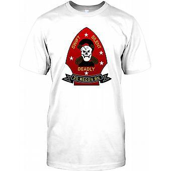 USMC 2nd Marine Recon - Swift Silent Deadly Kids T Shirt