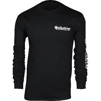 Quiksilver Mens Twin Fin Mates LS Shirt - Black