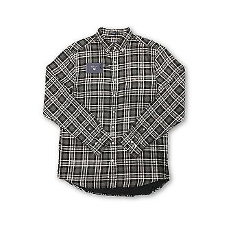 Gant Winter Double Face shirt in navy check