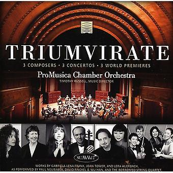 Promusica Chamber Orchestra - Triumvirate [CD] USA import