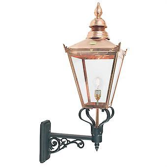 Chelsea Outdoor Grande Up Wall Lantern - Elstead Lighting Csg1 COPPER