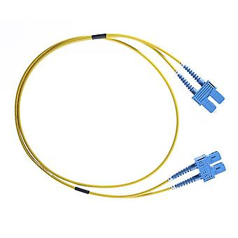 5M ScSc Os1 Os2 Singlemode Fibre Optic Cable Yellow
