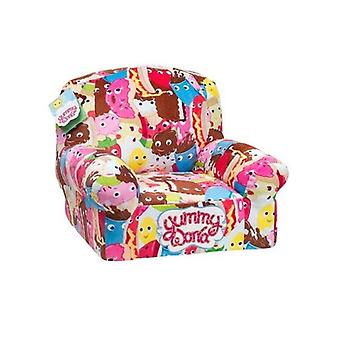 Yummy World Childrens/Kids Characters Design Plush Chair