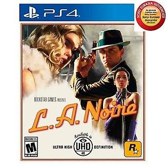 LA Noire Remastered PS4 Game