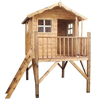 Mercia Tulip Tower Wooden Playhouse
