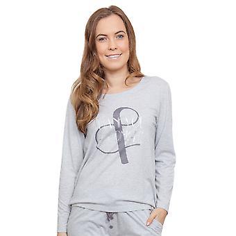 Cyberjammies 3811 Women's Erica Grey Pajama Pyjama Top