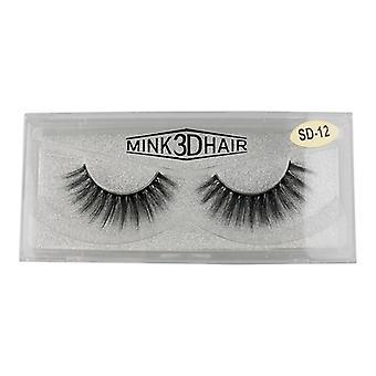Mink 3D Synthetic false eyelashes