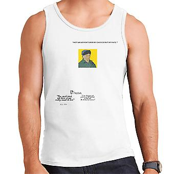 A.P.O.H Vincent van Gogh One Must Work And Dare Quote Men's Vest