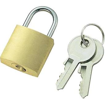 Padlock 21 mm 110496 Brass