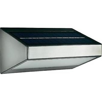 Solar outdoor wall light 1.5 W Warm white Philips Lighting 178104716 Greenhouse Grey