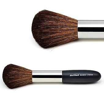 Powder brush with brown mountain goat hair 9422