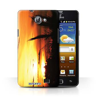 STUFF4 Case/Cover voor Samsung Galaxy R/I9103/Tree Tops/zonsondergang decor