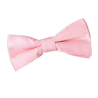 Boy's Plain Baby Pink Satin Bow Tie