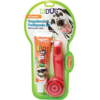 EZ Dog Pet Finger Toothbrush Kit-  FFP4543