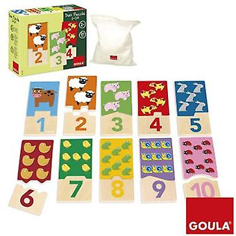 Goula 01.10 Duo Puzzle (Spielzeuge , Brettspiele , Puzzles)