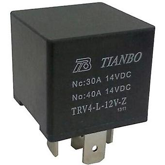 Automotive relay 12 Vdc 1 change-over Tianbo Electronics