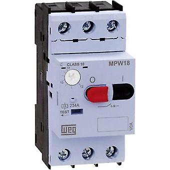 Overload relay adjustable 1.6 A WEG MPW18-3-D016 1 pc(s)