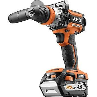 AEG Powertools BSB18CBL-402C Cordless impact driver 18 V 4 Ah Li-ion incl. spare battery, incl. case
